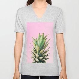 Pineapple Pink Unisex V-Neck