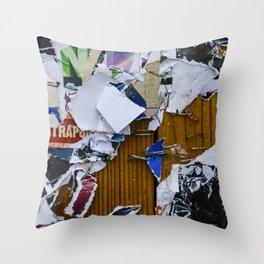 Little pieces Throw Pillow