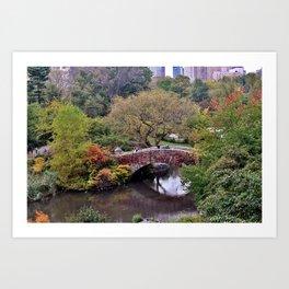 Central Park Life, NYC Art Print