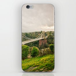Bristol- Clifton Suspension Bridge Panorama iPhone Skin