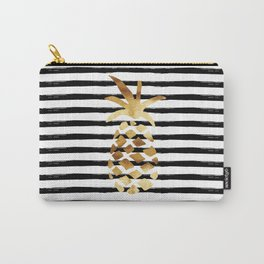 Pineapple & Stripes Carry-All Pouch