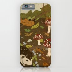 Woodland critters (sepia tone) Slim Case iPhone 6s