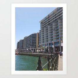 Seaside Sydney Art Print