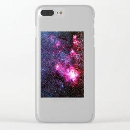 Tarantula Nebula Clear iPhone Case