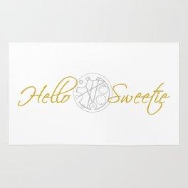Hello Sweetie Rug
