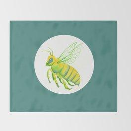 Honeybee Throw Blanket