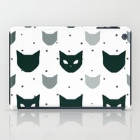 because cats iPad Cases featuring Cats Cats Cats by Be Kindly