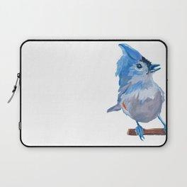 Little Blue Birdie Laptop Sleeve