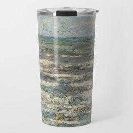 The Sea at Katwijk by Jan Toorop Travel Mug