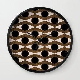 MCM Golden Eye Wall Clock