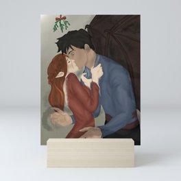 Gwyn and Azriel Winter Solstice  Mini Art Print