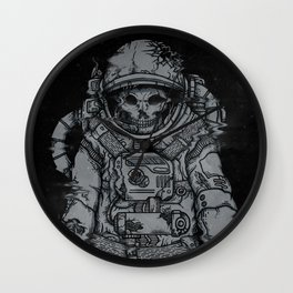 forgotten astronaut Wall Clock