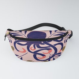 Sweet Octopus Pink Fanny Pack