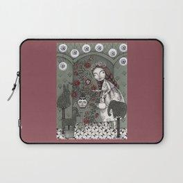When it Snows Outside (My Secret Garden) Laptop Sleeve