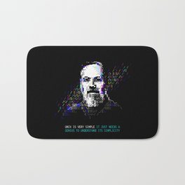 Dennis Ritchie - Tech Heroes series Bath Mat