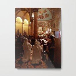 First Communion, San Francisco, CA Metal Print