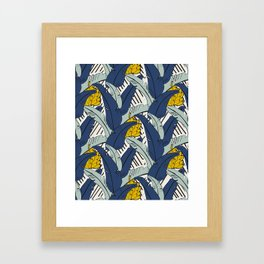 Banana Leaf Framed Art Print