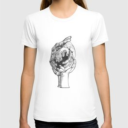 Join Hands - Give me a hand and we'll bring a little harmony to this chaotic world.  T-shirt