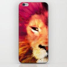 BIG CAT LION iPhone & iPod Skin