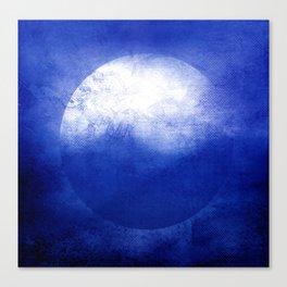 Circle Composition V Canvas Print
