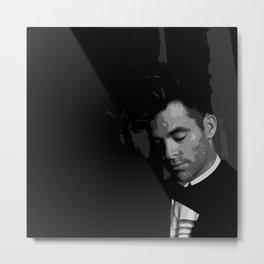 Chris Pine 7 Metal Print