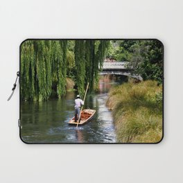 Punting on the Avon Laptop Sleeve