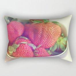 Les Fraises Rectangular Pillow