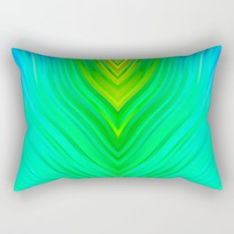 stripes wave pattern 3 sm60 Rectangular Pillow