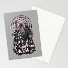 Lord of MAgnetism and Wizardry Stationery Cards