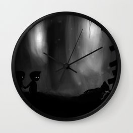 Overlooking Chaos Wall Clock