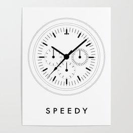 Omega Speedmaster (Speedy) Poster