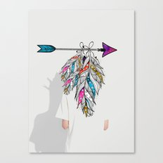 Colourful mess Canvas Print
