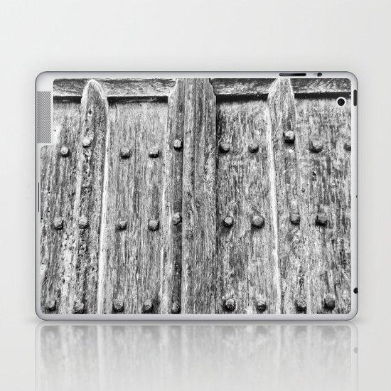 Ancient Door Laptop & iPad Skin