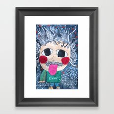 Einstein Framed Art Print
