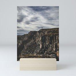 Mountains and Victory! || Iceland Travel Shots. || Motivational. || Wall art. || MadaraTravels. Mini Art Print
