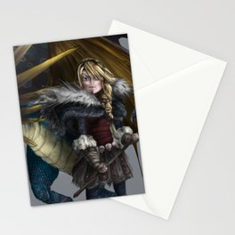 astrid & stormfly HOW TO TRAIN YOUR DRAGON 2 Stationery Cards
