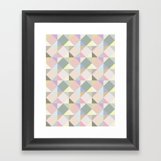 Shapes 004 Framed Art Print