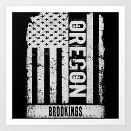 Brookings Oregon Art Print