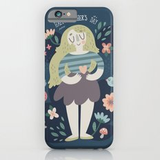 Mother's Day Lady In Nature Design Slim Case iPhone 6s