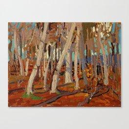 Tom Thomson Maple Woods, Bare Trunks 1915 Canadian Landscape Artist Canvas Print