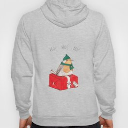 Fat Christmas Robin Hoody