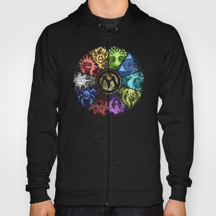 Magic the Gathering - Faded Guild Wheel Hoody