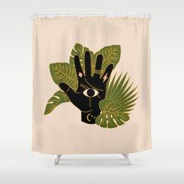 Mystic Hand Shower Curtain