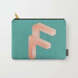 Futuristic F Carry-All Pouch