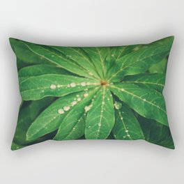 Diamond Leaf Rectangular Pillow