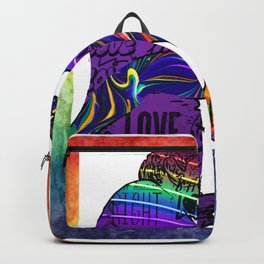Gays lovers blowjob lgbtq Backpack