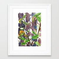 big sur Framed Art Prints featuring Big Sur by Briana Kranz