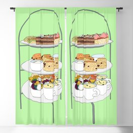 English Afternoon Tea Cakes Blackout Curtain