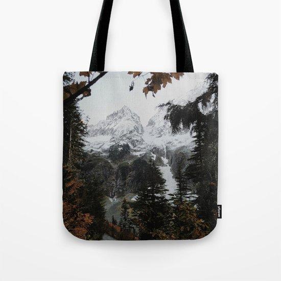 Cascade River Rd Tote Bag