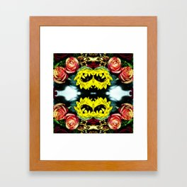 Flower Crown (Part 1) Framed Art Print